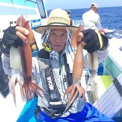 7月20日(木) 一日便・スルメイカ釣りの写真その1