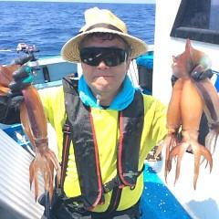 7月20日(木) 一日便・スルメイカ釣りの写真その2