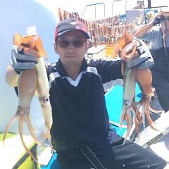 7月20日(木) 一日便・スルメイカ釣りの写真その3