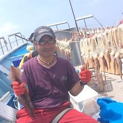 7月29日(土) 一日便・スルメイカ釣りの写真その2