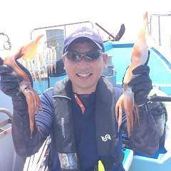 7月31日(月)スルメイカ釣り一日便の写真その4