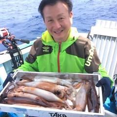 8月6日(日) 一日便・スルメイカ釣りの写真その1