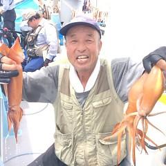 8月10日(木) 一日便・スルメイカ釣りの写真その1