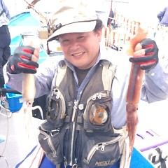 8月10日(木) 一日便・スルメイカ釣りの写真その2