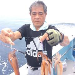 8月10日(木) 一日便・スルメイカ釣りの写真その3