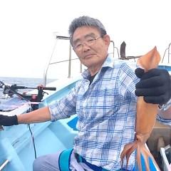 8月11日(金) 一日便・スルメイカ釣りの写真その5