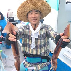 8月11日(金) 一日便・スルメイカ釣りの写真その6