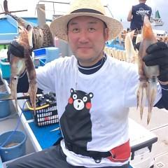 8月12日(土) 一日便・スルメイカ釣りの写真その1