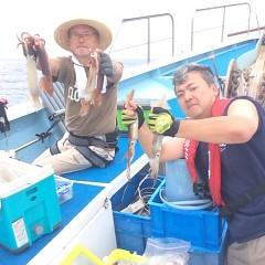 8月12日(土) 一日便・スルメイカ釣りの写真その2