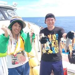 8月14日(金) 一日便・スルメイカ釣りの写真その1