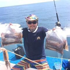 8月14日(金) 一日便・スルメイカ釣りの写真その3