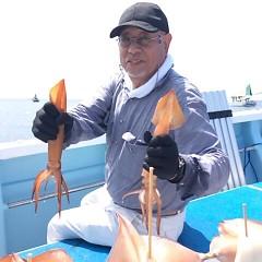 8月18日(金)スルメイカ釣りの写真その1