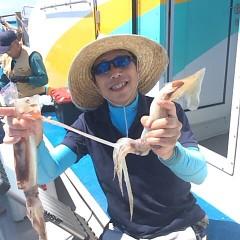 8月19日(土) 一日便・スルメイカ釣りの写真その4