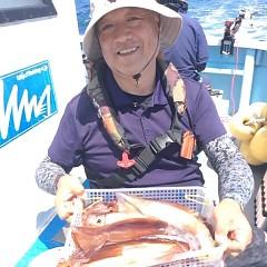 8月19日(土) 一日便・スルメイカ釣りの写真その5