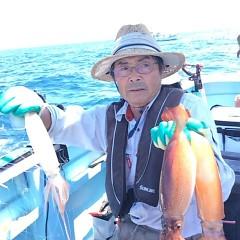 8月19日(土) 一日便・スルメイカ釣りの写真その6