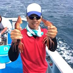 8月20日(日) 一日便・スルメイカ釣りの写真その1