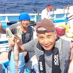 8月21日(月) 一日便・スルメイカ釣りの写真その1