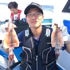 8月21日(月) 一日便・スルメイカ釣りの写真その3