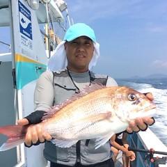 8月29日(火) 午前便・タテ釣りの写真その3