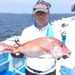 8月29日(火) 午前便・タテ釣りの写真その5