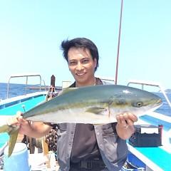 8月30日(水) 午前便・タテ釣りの写真その1