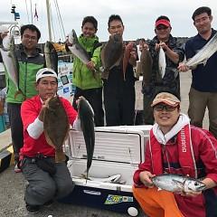 9月4日(月) 午前便・タテ釣りの写真その1