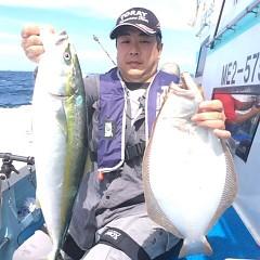 9月13日(水) 午前便・タテ釣りの写真その2