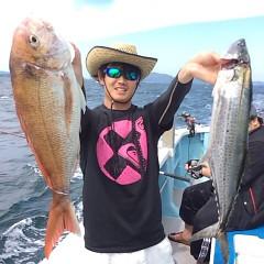 9月14日(木) 午前便・タテ釣りの写真その1