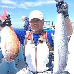 9月 21日(木)午前便・タテ釣りの写真その2
