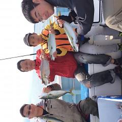 10月1日(日)午前便・タテ釣りの写真その1