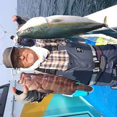 10月1日(日)午前便・タテ釣りの写真その3