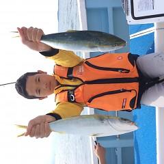10月1日(日)午前便・タテ釣りの写真その4