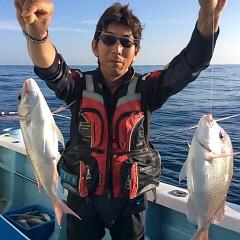 10月9日 (月)  午後便・ウタセ真鯛の写真その1