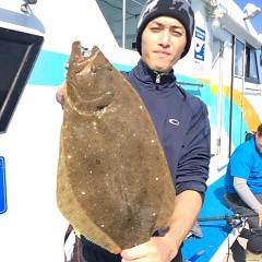 11月3日 (金)  午前便・ヒラメ釣りの写真その1
