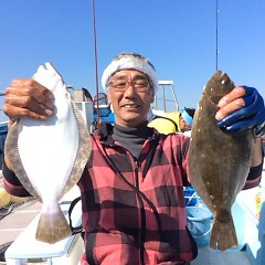 11月3日 (金)  午前便・ヒラメ釣りの写真その2