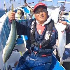 11月3日 (金)  午前便・ヒラメ釣りの写真その3