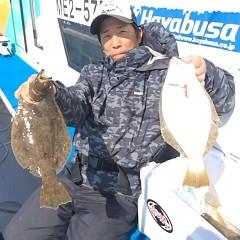 11月3日 (金)  午前便・ヒラメ釣りの写真その4