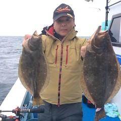 11月20日(月)午前便・ヒラメ釣りの写真その2