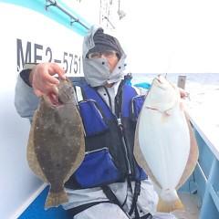 11月20日(月)午前便・ヒラメ釣りの写真その3