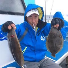 11月20日(月)午前便・ヒラメ釣りの写真その5
