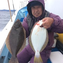 11月20日(月)午前便・ヒラメ釣りの写真その6