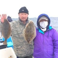 11月20日(月)午前便・ヒラメ釣りの写真その7