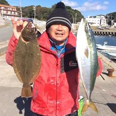 11月21日(火)  午前便・ヒラメ釣りの写真その2