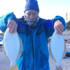 11月21日(火)  午前便・ヒラメ釣りの写真その3