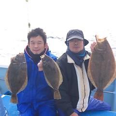 11月26日(日)  午前便・ヒラメ釣り 午後便ウタセ真鯛の写真その2