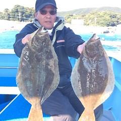 11月27日 (月) 午前便・ヒラメ釣りの写真その1