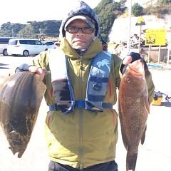 11月27日 (月) 午前便・ヒラメ釣りの写真その2