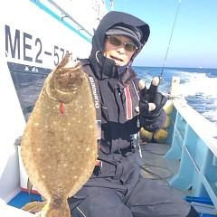11月28日 (火) 午前便・ヒラメ釣りの写真その1