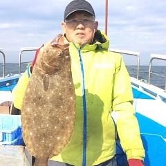 11月29日 (水) 午前便・ヒラメ釣り 午後便・ウタセ真鯛の写真その1