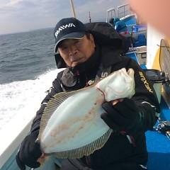 11月29日 (水) 午前便・ヒラメ釣り 午後便・ウタセ真鯛の写真その2
